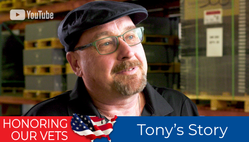 Honoring Our Vets - Tony's Story